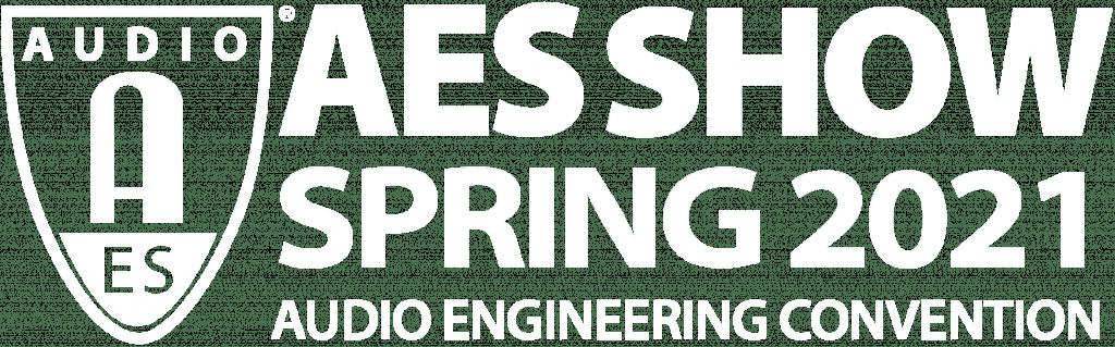 AES SHOW Spring logo white